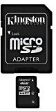 MicroSD memory card with adapter