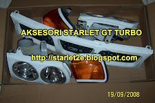 Aksesori Starlet GT