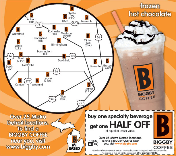 Coffee coupons 2018