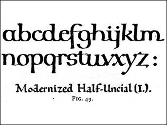 History of western handwriting