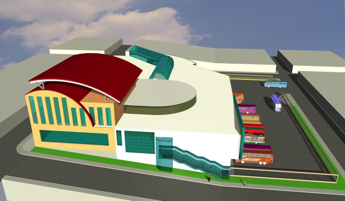 Arquitectura y casas 3d terminal terrestre - Paginas de arquitectura y diseno ...