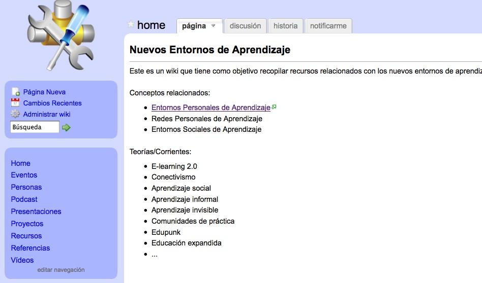 Pedro Cuesta Morales: Web 2.0: Entornos Personales de Aprendizaje