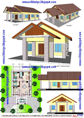 IDEA DESIGN BUNGALOW) + ( PELAN BANGLO +PLAN BUNGALOW): January 2010