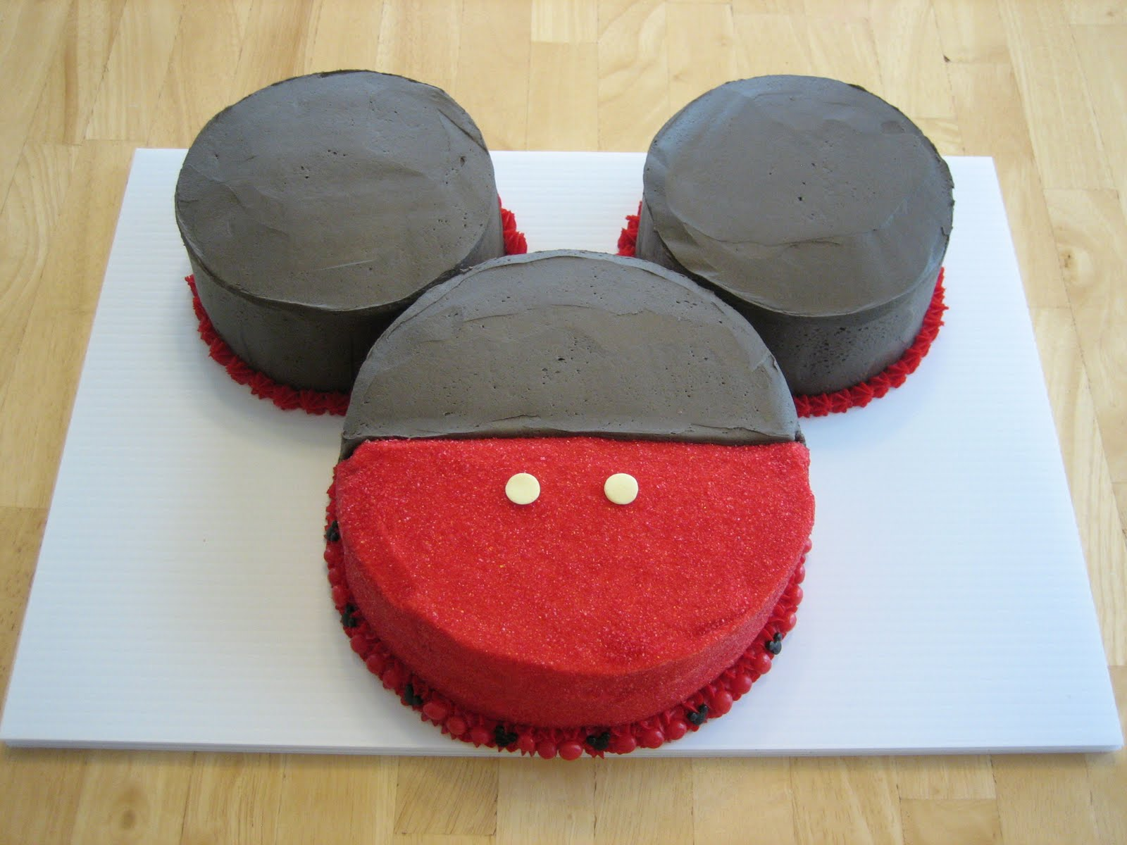 Mickey Mouse Images For Cake : five: Mickey Mouse Cake