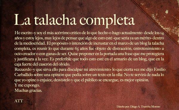 La Talacha Completa