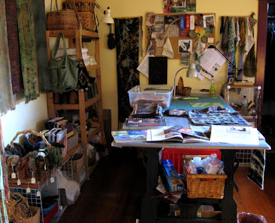 Studio View, January 2009