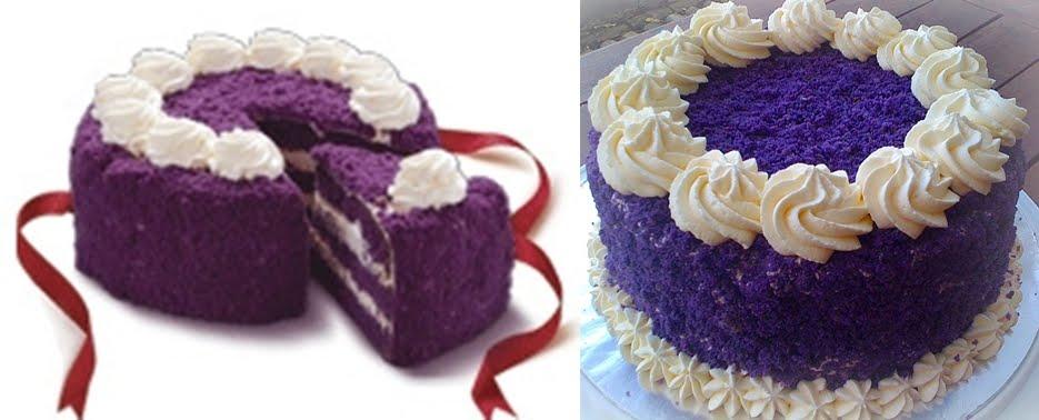Cake Red Ribbon Recipe : Ube cake recipes - Photo recipes