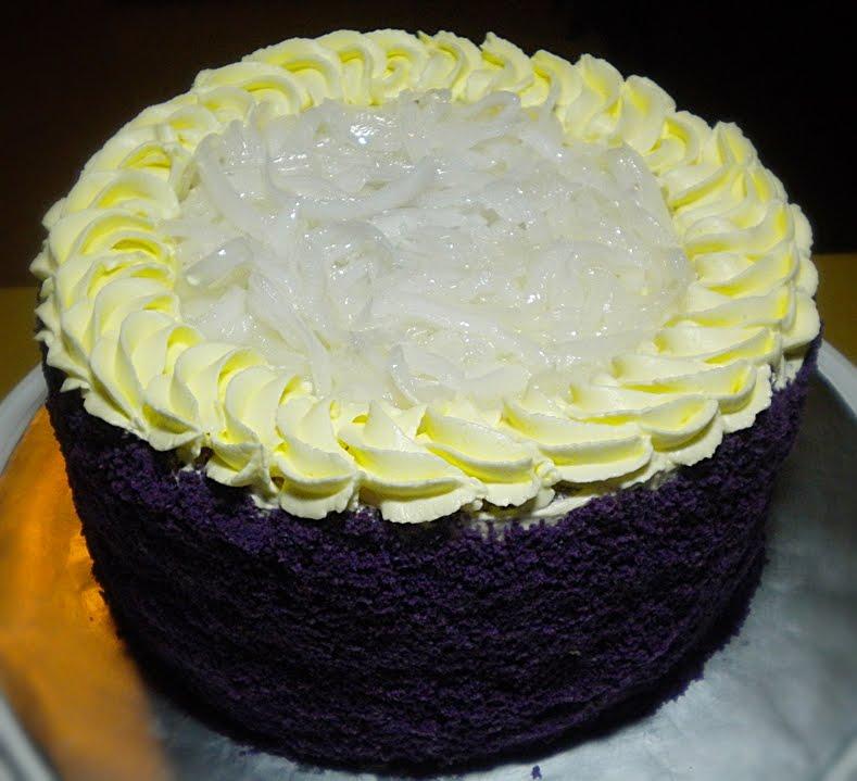 Ube Cake Frosting