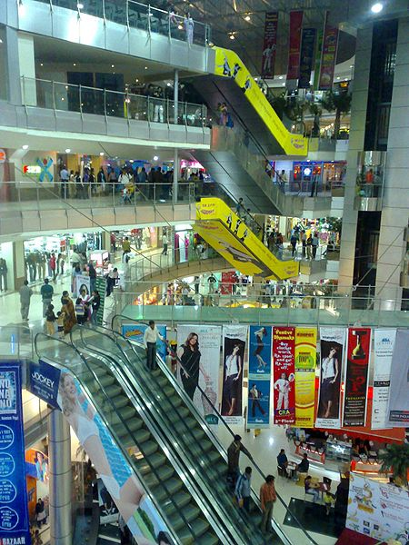 Malls like Treasure Island, Mangal City, C-21 Mall, Indore Central and