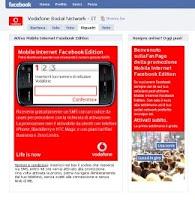 Facebook stringe un accordo con Vodafone