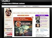 Michael Jackson: ultima foto e reazioni dal mondo della musica