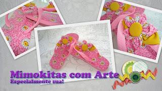 sandália personalisada