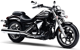 2010 Black Yamaha V-Star 950