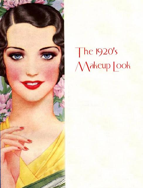 1920s make-up tutorial | Glamourdaze