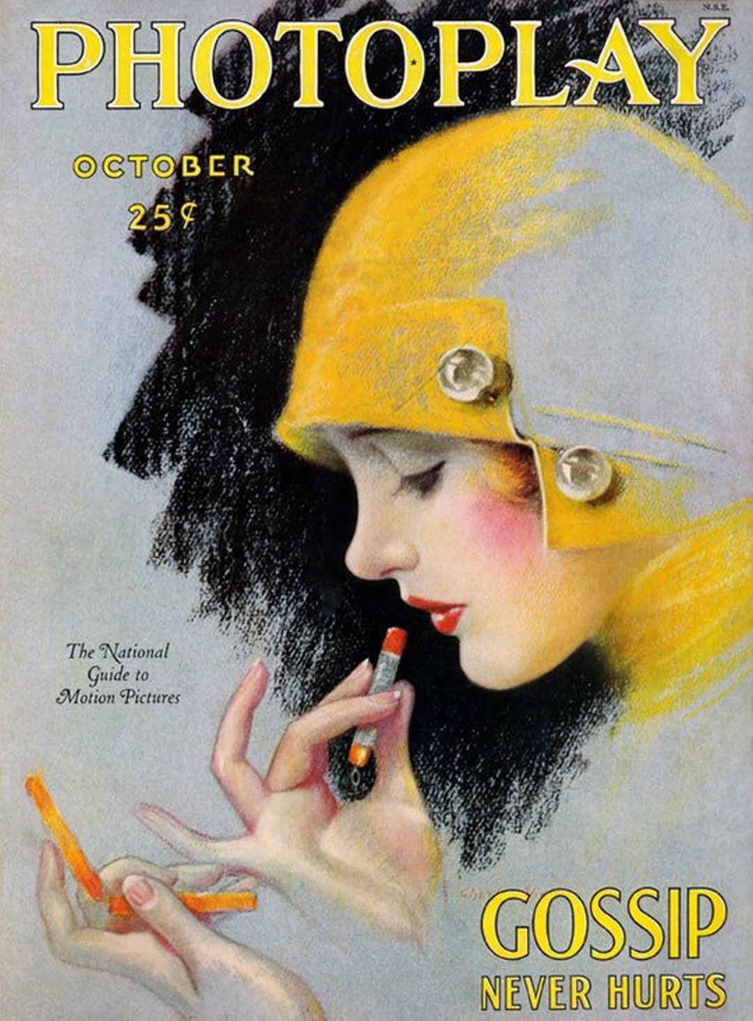 Lipstick Glamour The History Of Lip Makeup Glamourdaze