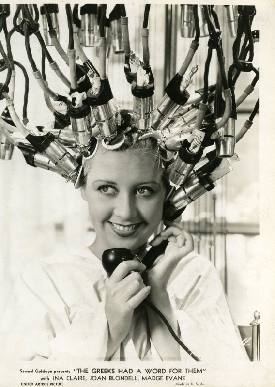 1930's fashion - Vintage Hair Salon 1934 | Glamourdaze