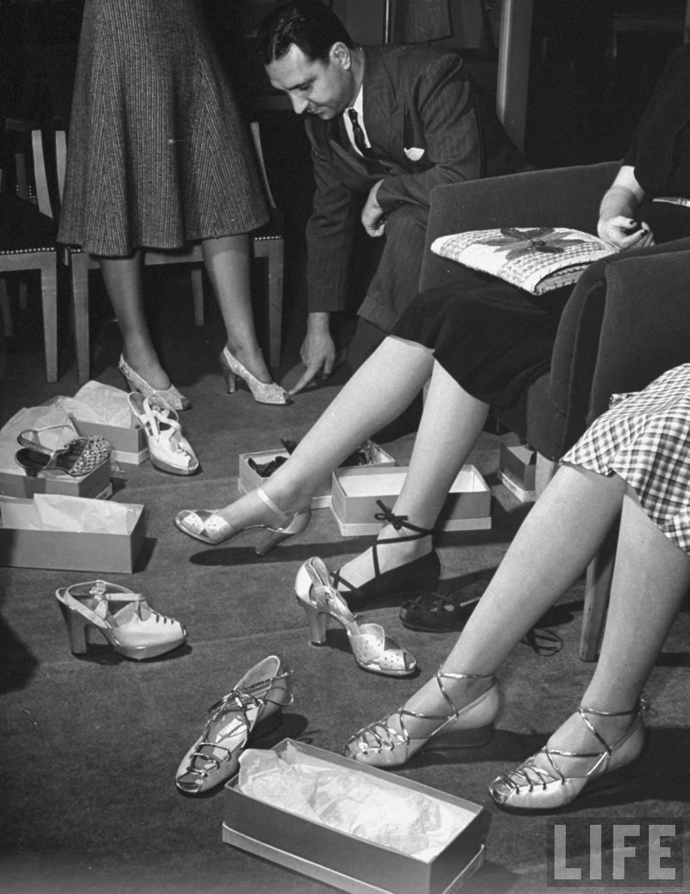 Beautiful 1940s Womens Dress Shoes Shoestylesof1942c