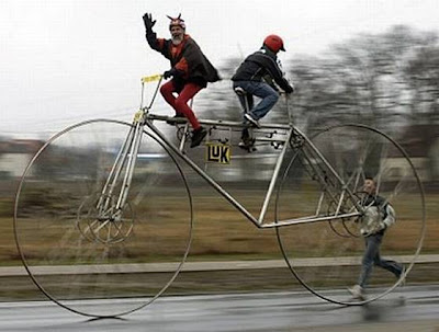 funny unusual bikes