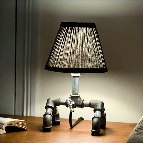 - Unique handmade lamps ...