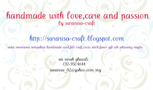 handmade by sararisa