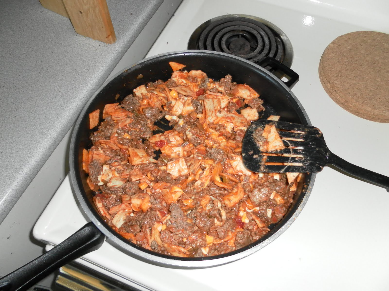 The Ginger is Cooking: Beef Taco Skillet