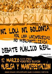 Huelga y manifestación 12 de marzo