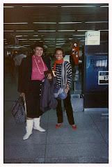 Morella Muñoz y Hortensia Carrer