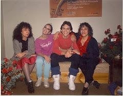 Con Janis Pikieris,  Marielena Mencía y Dinapiera Di Donato