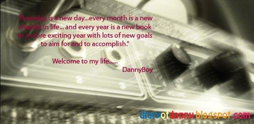 Diary Of Danny