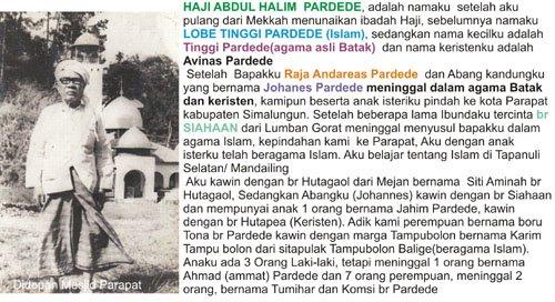 Haji Abd Halim Pardede
