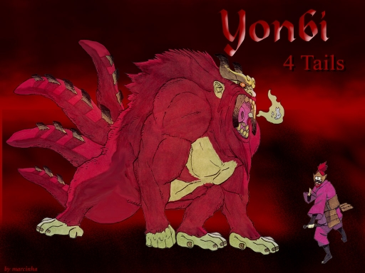 Yonbi 4 colas Jutsus Yonbi