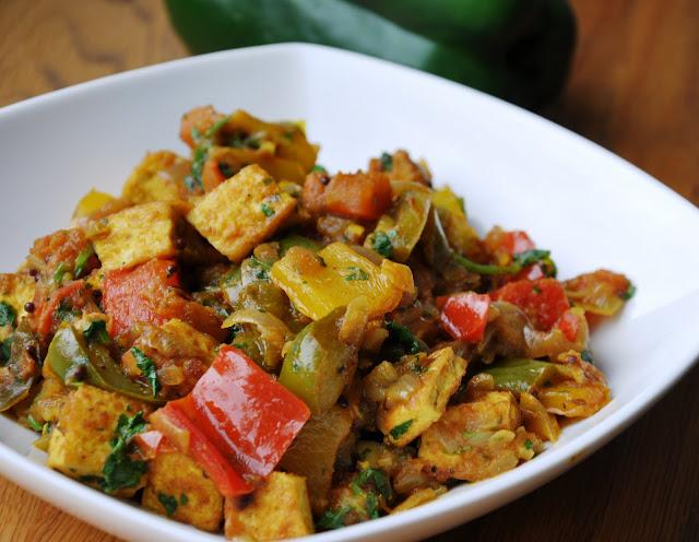 tofu jalfrezi