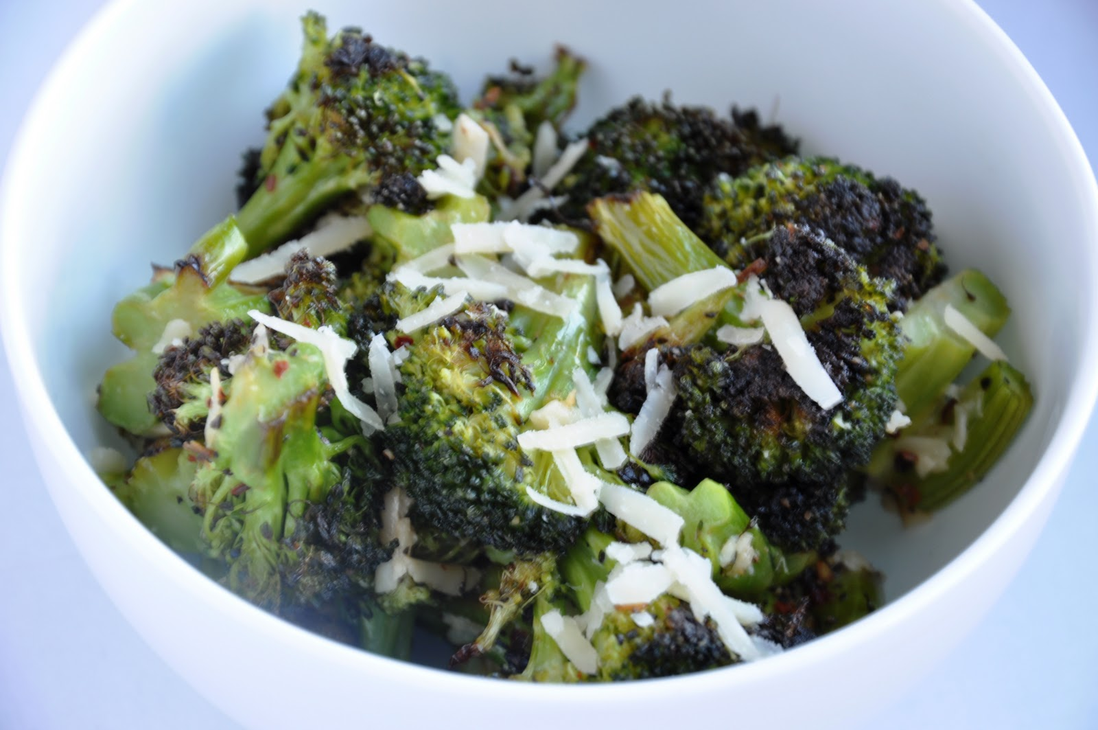 parmesan roasted broccoli - honey, whats cooking