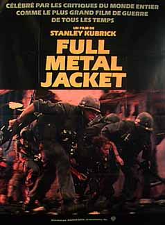 full metal jacket 1987 essay Full metal jacket film analysis essays: over 180,000 full metal jacket film analysis essays, full metal jacket film analysis term papers, full metal jacket film analysis research paper, book.