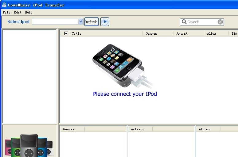 how to send music from laptop to iphone