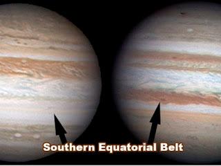 Júpiter sem sua listra