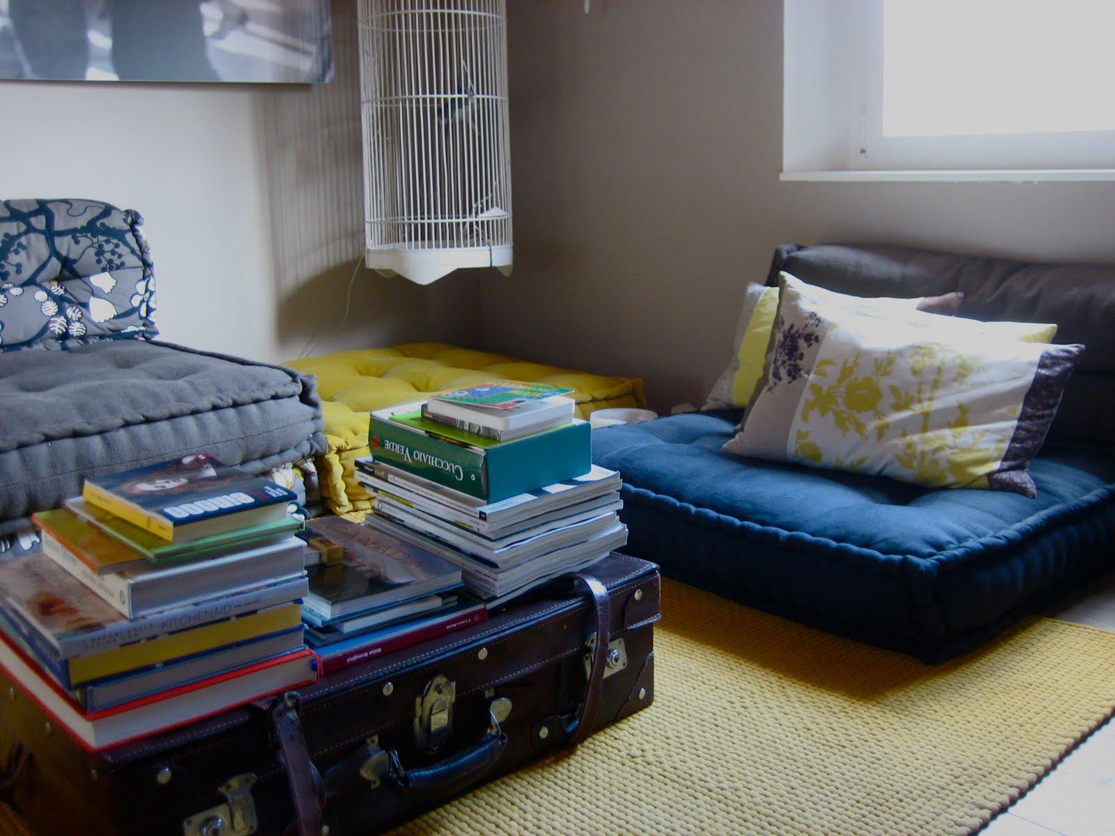 Da un materasso a un divano a cuscini trapuntati - Cuscini schienale divano ...