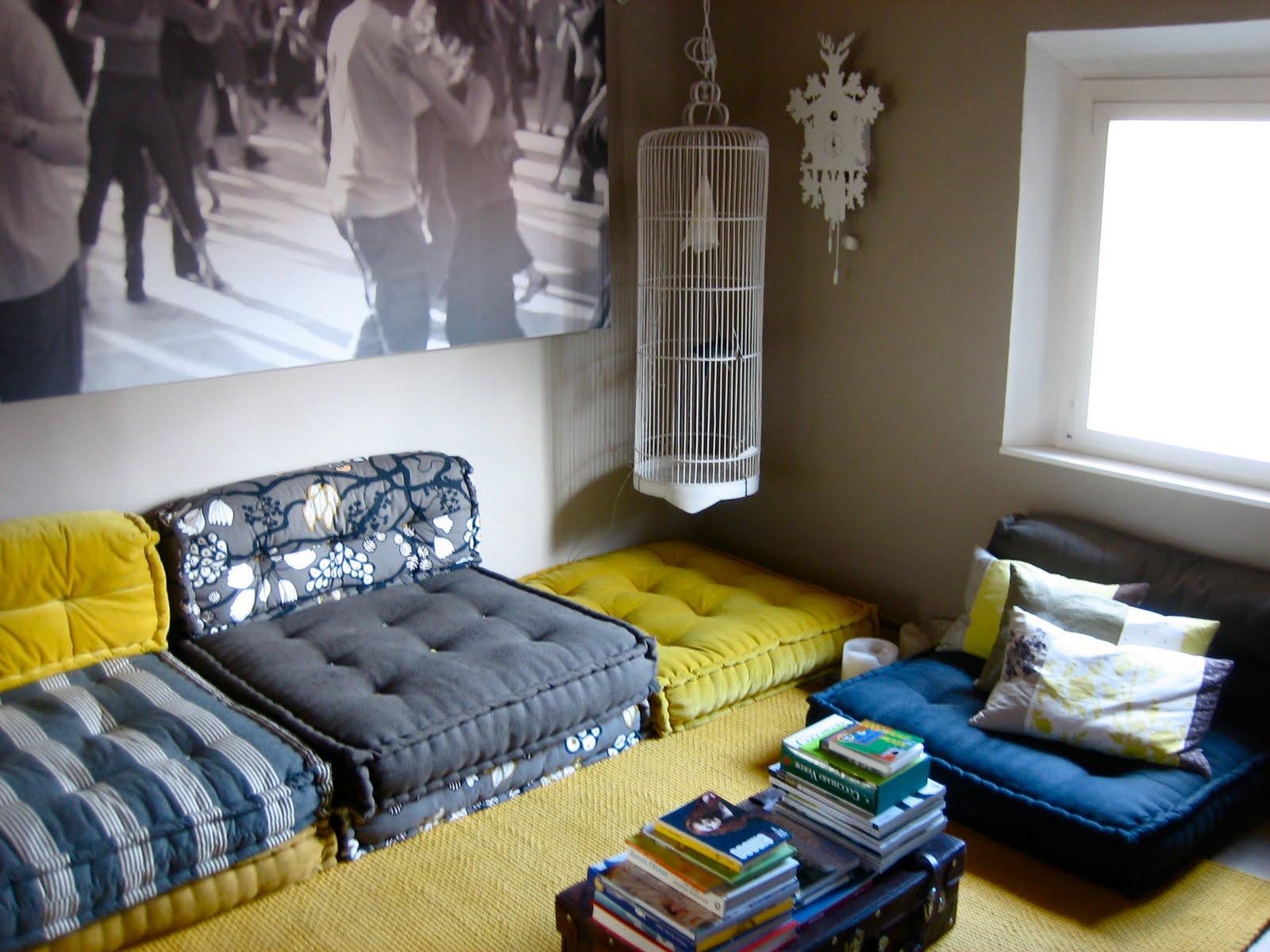 Da un materasso a un divano a cuscini trapuntati - Cuscini grandi ikea ...