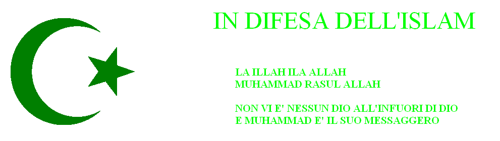 IN DIFESA DELL'ISLAM