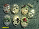Painted Lady Cabochons
