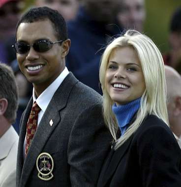 tiger woods wife pregnant. brett favre wife