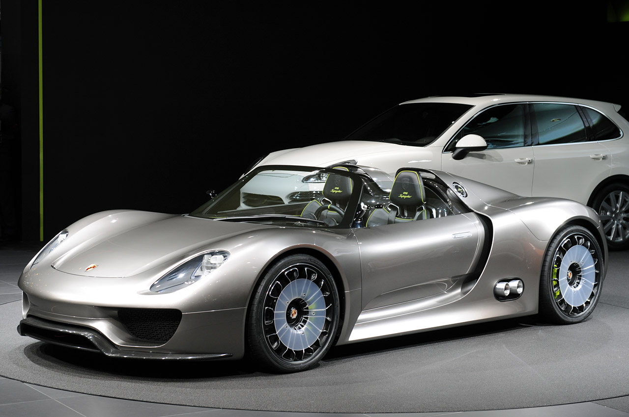 carros especiais porsche 918 spyder hybrid. Black Bedroom Furniture Sets. Home Design Ideas