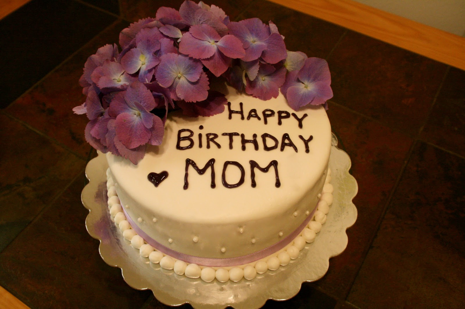 Mother Birthday Cake Photo : Image Gallery october birthday cakes mom