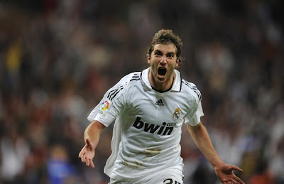 Higuain celebrate the goal he scored against Getafe at last minute