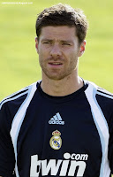 Xabi Alonso First Training in Real Madrid