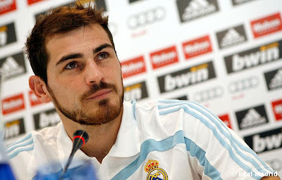 iker casillas press conference
