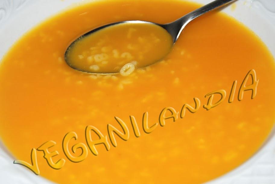 sopa caldo zanahoria