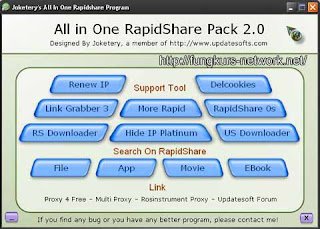 Rapidshare free Download Tools