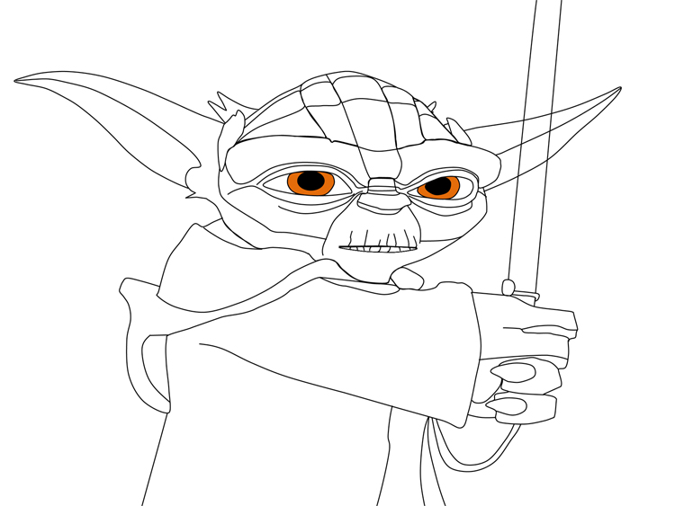 How to draw star wars yoda wallpapersYoda Face Drawing