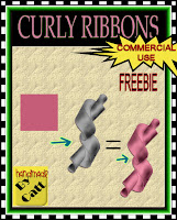 Curly Ribbon Template - By: Catt's Scrapps CATT_CUfreebie_PREVIEW